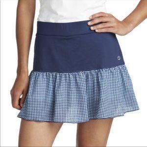 Vineyard Vines Blue Performance Skirt Skort